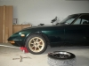 Rims test fitted to dad's old JDM S31 Fairlady Z-S
